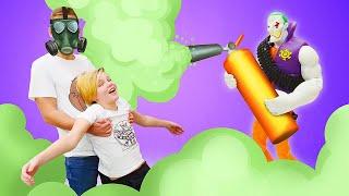 Супергерои в видео онлайн - Джокер против Полицейской Академии! - Новые игры для мальчиков.