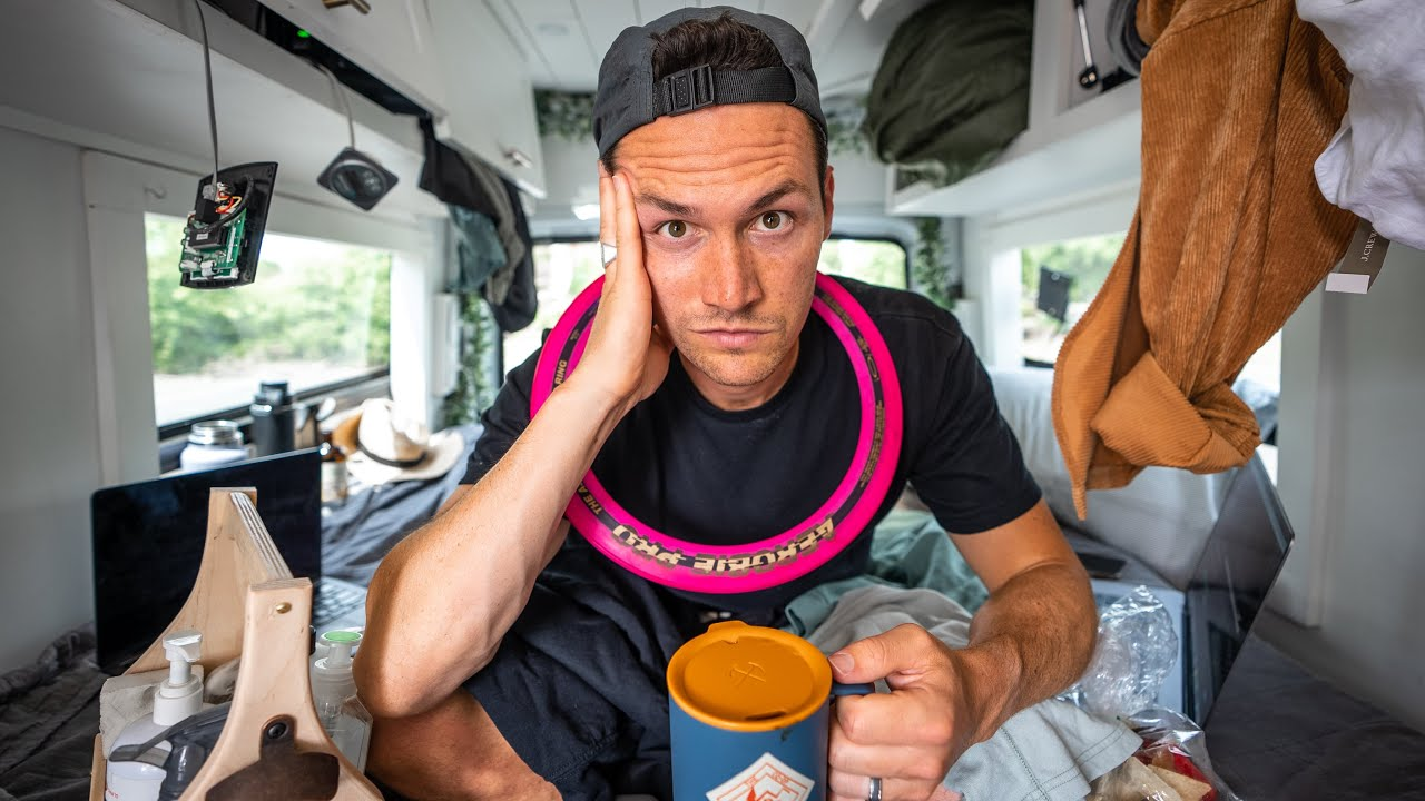 VAN LIFE CONFESSIONS…(a REAL LIFE tour of our converted van)