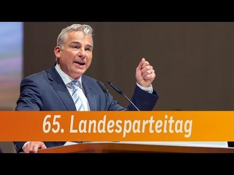 Thomas Strobl beim 65. Landesparteitag