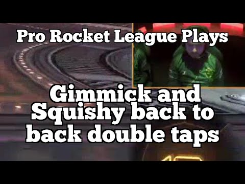 Pro Rocket League Plays: Gimmick and Squishy back to back double taps thumbnail