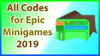 Funneh Roblox Epic Minigames Roblox Epic Minigame Codes 2019
