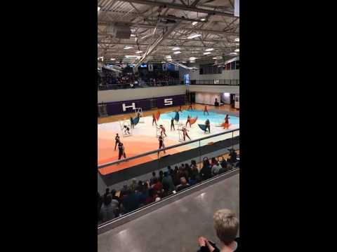 Mascoutah High School Winterguard Home Performance