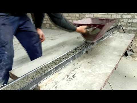 Изготовление бетонных столбиков (Садовый, Хоз. Нужд...)
