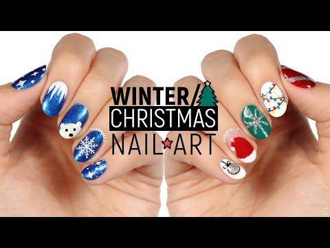 New Nail Art 2018 Winter/Christmas Nail Design Compilation