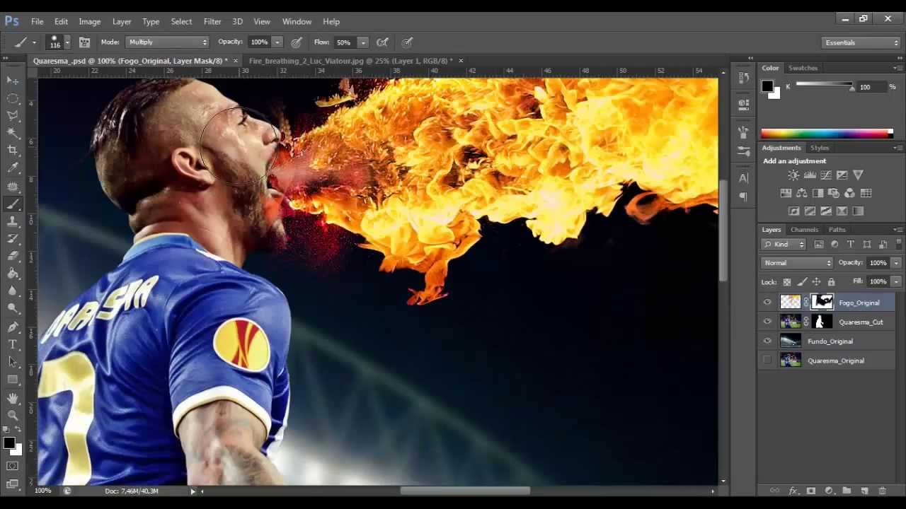Quaresma Speedart Photoshop BrunoSousa