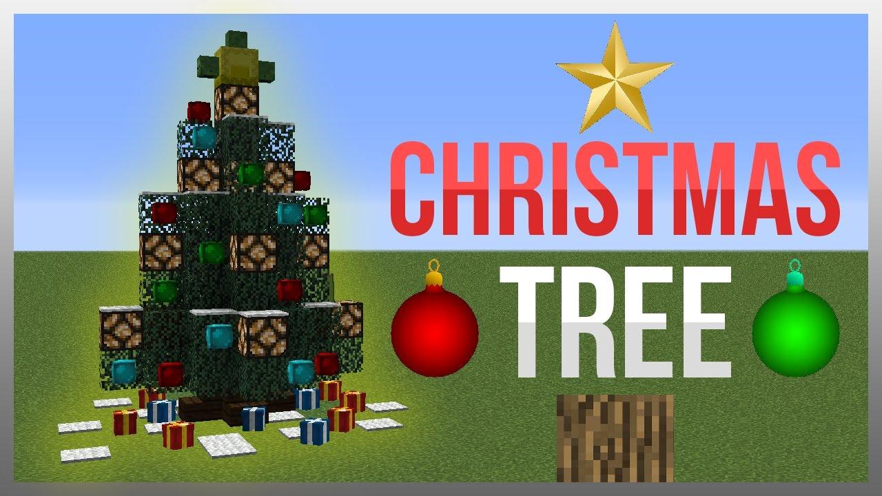 Minecraft Christmas Tree.Minecraft 1 12 Redstone Tutorial Flashing Christmas Tree