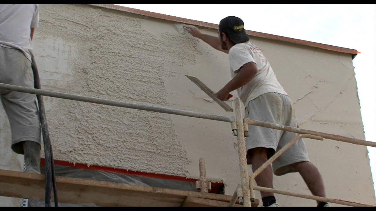 Ma maison pour demain les fa ades ext rieures youtube for Peinture pour mur exterieur crepi