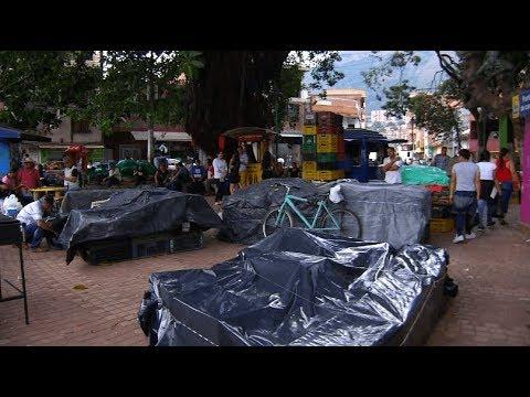 Finalizó evacuación de la plaza de mercado de Bello - Teleantioquia Noticias
