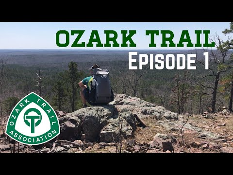 Ozark Trail Episode 1 (A herd of wild ELK!!!)