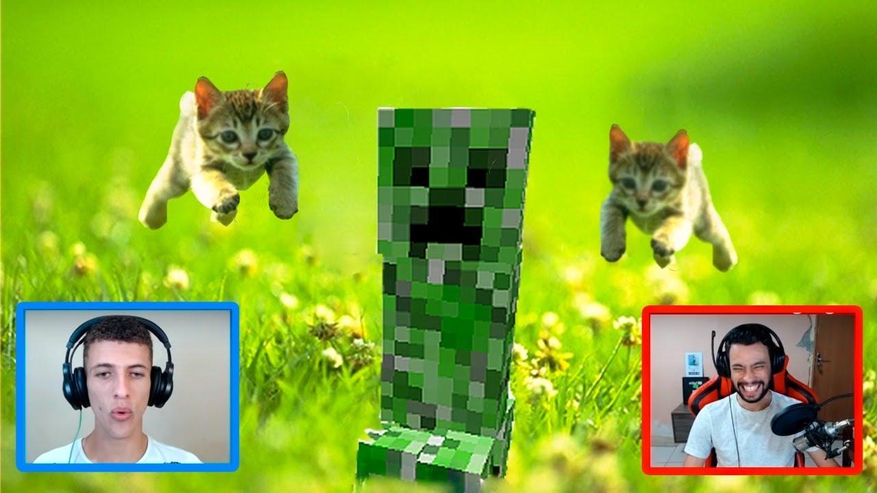MEMES de Minecraft na VIDA REAL! *React*