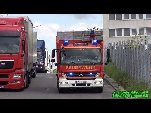 [FEUER IN SPEDITION MIT GEFAHRGUT] | Großeinsatz für die Feuerwehr | ABC-Zug (Gefahrgutzug) - [Ü]