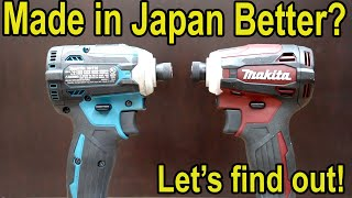 "Made in ""Japan"" Makita Better? Let's find out!"