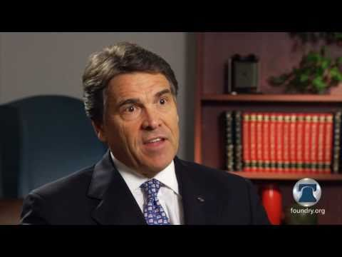 Texas Governor Rick Perry On The Danger Of National Standards
