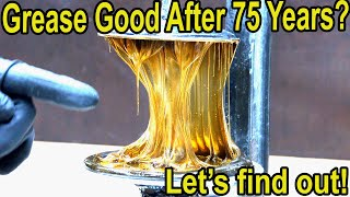 Is 75-Year Old Grease Still Good? Let's find out!  1940s Conoco vs MAG 1 Bearing Grease