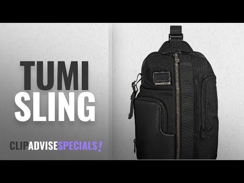Top 10 Tumi Sling [2018]: Tumi Men's Alpha Bravo Smith Sling Backpack, Black, One Size