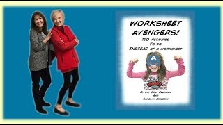 Worksheet Avengers with Dr. Jean and Carolyn - Coupon too