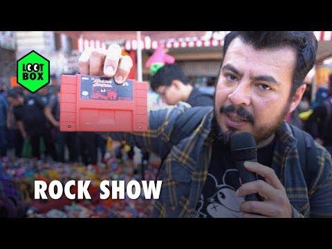 Loot Box: Buscando juegos retro y curioseando en el Rock Show | BitMe