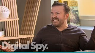 Ricky Gervais 'very excited' about Special Correspondents & David Brent film