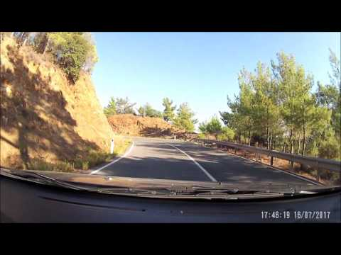 Paphos forest, testing the DRIFT Stealth 2
