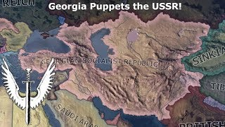 Georgia Puppets the USSR? (Hoi4 Speedrun/Timelapse)