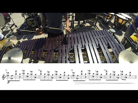 "2016 Blue Stars Front Ensemble - LEARN THE MUSIC to ""Le Reve"""