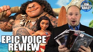 MOANA & GIFT GUIDE – Movie Review