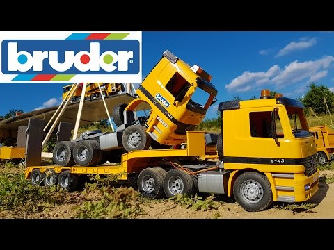 BRUDER toys CRASH compilation!