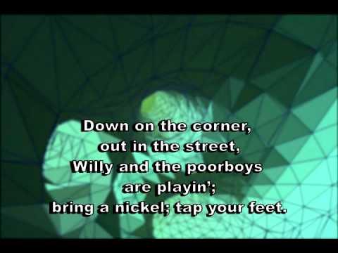 Down on the Corner - Creedence (karaoke)