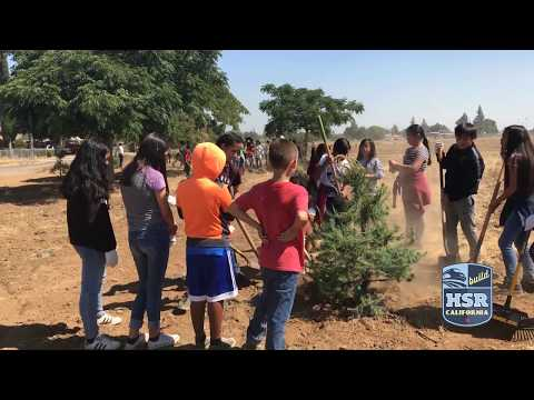 West Fresno Middle School Tree Planting