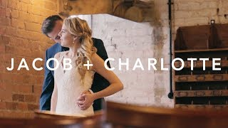 Jacob + Charlotte | A Winter Wedding