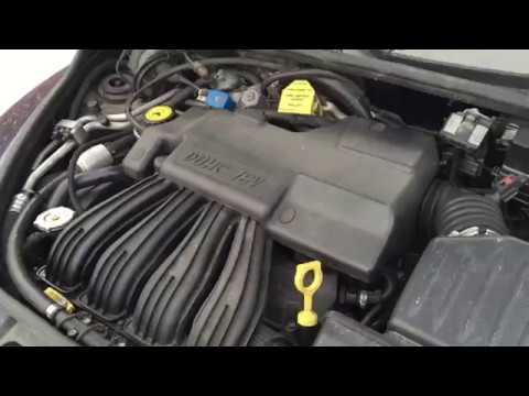замена двигателя Chrysler PT cruiser с 2.0 на 2.4 эксперимент