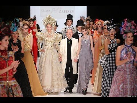 A Solas con Slava Záitsev, uno de los diseñadores de alta costura más prestigiosos de Rusia