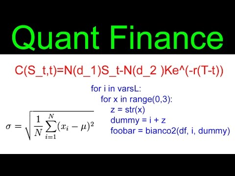 What is Quant Finance