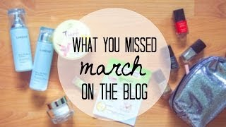 Blog Recap: March | 2014 Thumbnail
