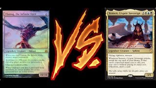 EDH Commander Challenge #54! Ulamog, the Infinite Gyre Vs Yennett, Cryptic Sovereign