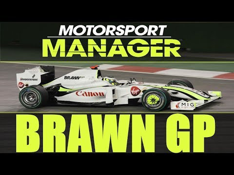 🏎️ Helytállás a királykategóriában | Brawn GP | MOTORSPORT MANAGER | 11. Szezon #31