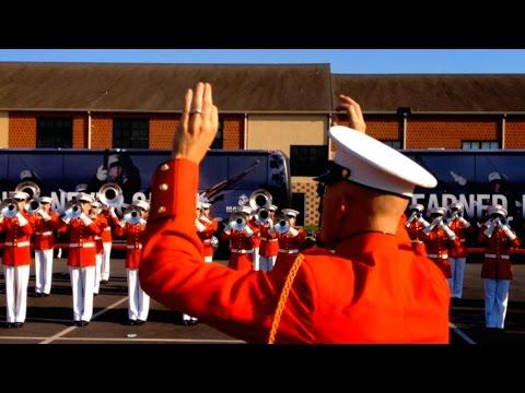 US Marine Drum & Bugle Corps 2014 - Warmup [Quality Audio]