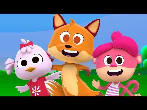 Las Canciones del Zoo 3 - Mix Enganchado de Canciones Infantiles   El Reino Infantil
