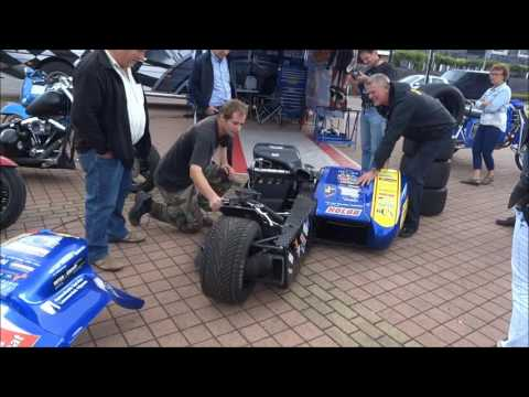 Sidecar Race Motorcycle Exhaust Sound