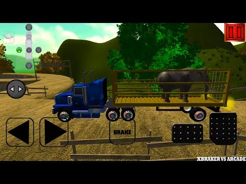 Offroad Transport Animal Truck 3D Android Gameplay