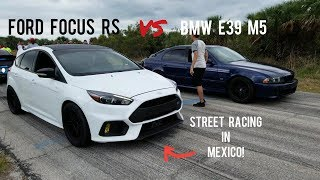 Ford Focus RS vs BMW E39 M5, Chevy SS vs C63 AMG & G8 GXP TIME ATTACK