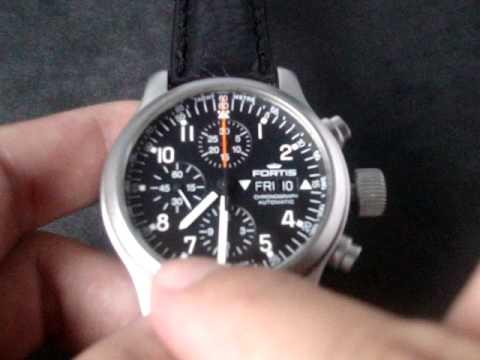 3e8b1d089a7 Relógio Fortis B042 Cronografo Fighters Vidro Safira Anti Reflexo  www.watchesmarcas.com.br