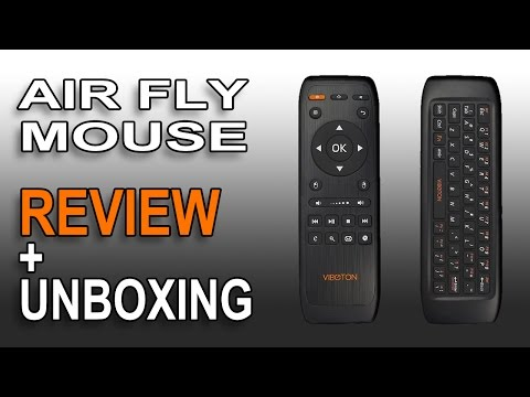 REVIEW Fly Air Mouse Wireless USB Remote Control Keyboard