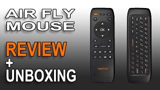 air mouse wifi usb wireless keyboard alitv fly remote control combo unboxing review