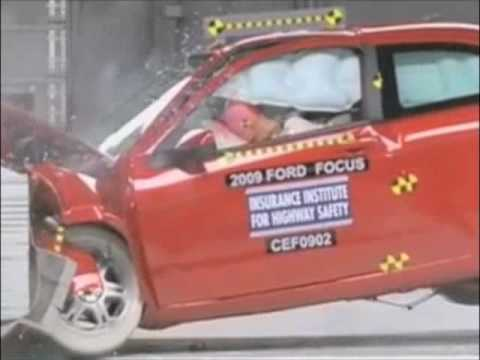 2008-2010 Ford Focus Coupe - IIHS Crash Tests