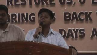 Benison Matthew singing  പ്രാണപ്രീയ യേശു നാഥാ