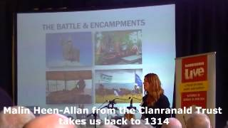 700th Battle of Bannockburn launch at Stirling Castle 19th March 2014