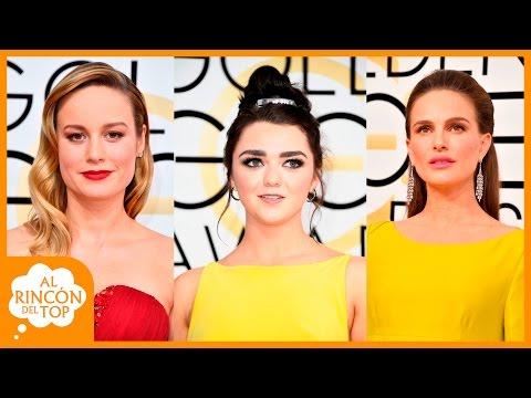 La alfombra roja de los Golden Globe Awards 2017