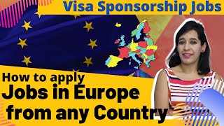 How to apply jobs in Europe from any country |How to find Visa Sponsorship jobs | LinkedIn visa jobs screenshot 5