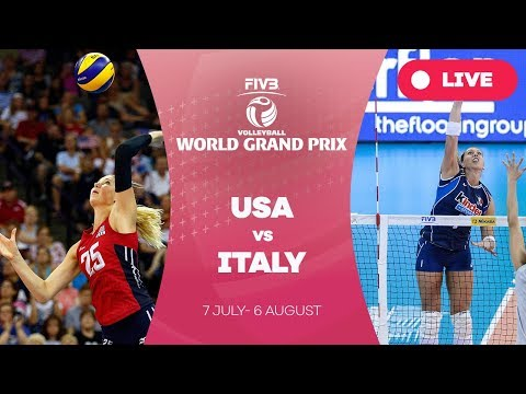 USA v Italy - Group 1: 2017 FIVB Volleyball World Grand Prix